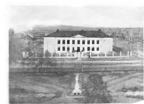 Нейво-Рудянка. Фото школы с колокольни Христорождественского храма.