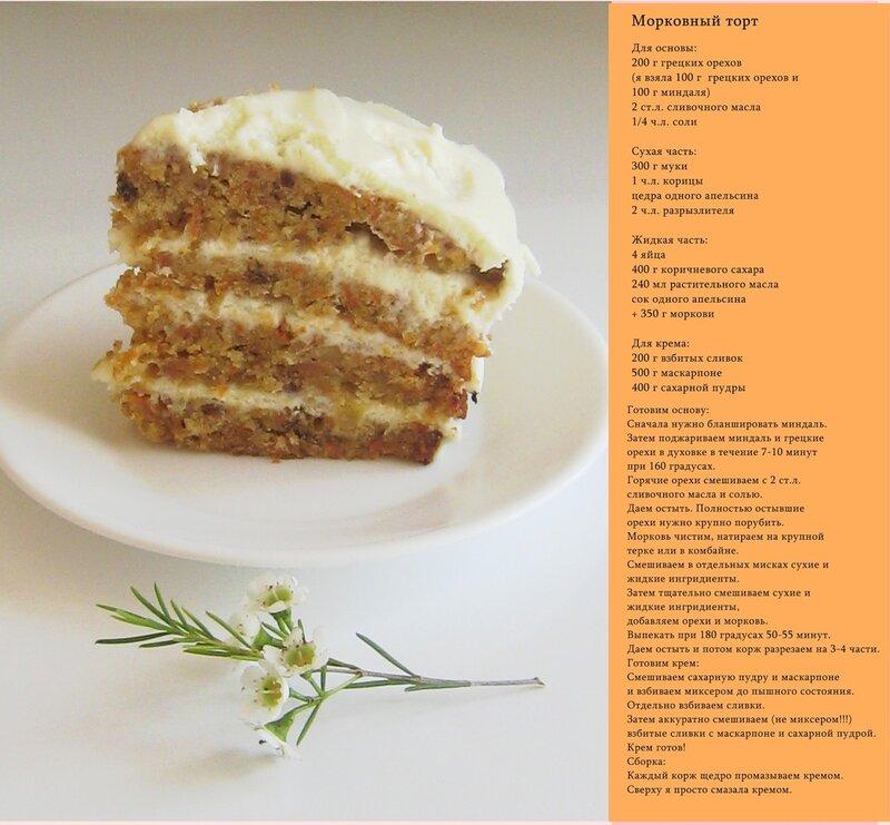 Фото тортов с кремом из сыра рецепты