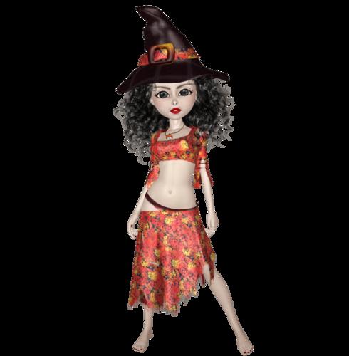 Mavka-Ведьмочка(к Хэллоуину)