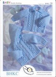 Журнал Baby 4ply Pattern UKHKA / BHKC 20 (41-66cm) / BHKC 21 (41-56cm)