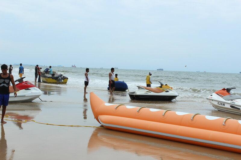Индия, Гоа, на пляже Кандолима