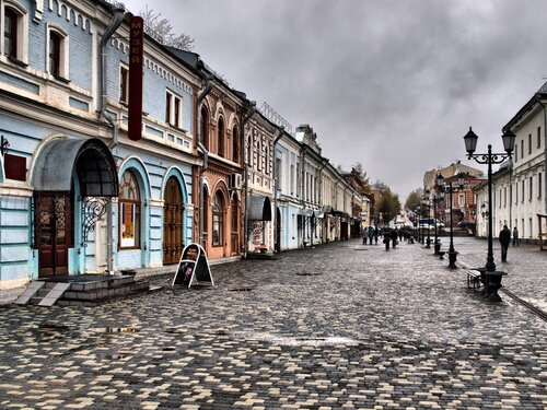улица Спасская в Кирове
