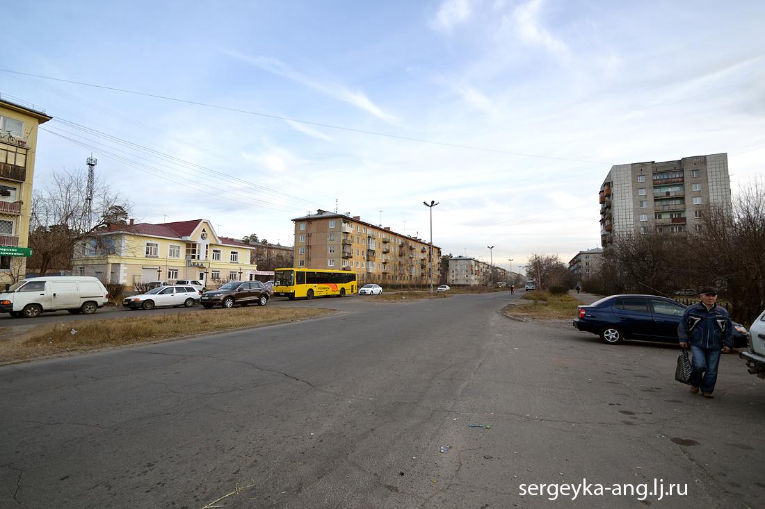 ул. Ворошилова в сторону улицы Чайковского