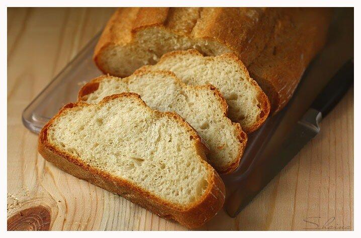 Легкий пшеничный хлеб