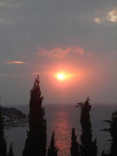 Крым,Симеиз,осень,утро
