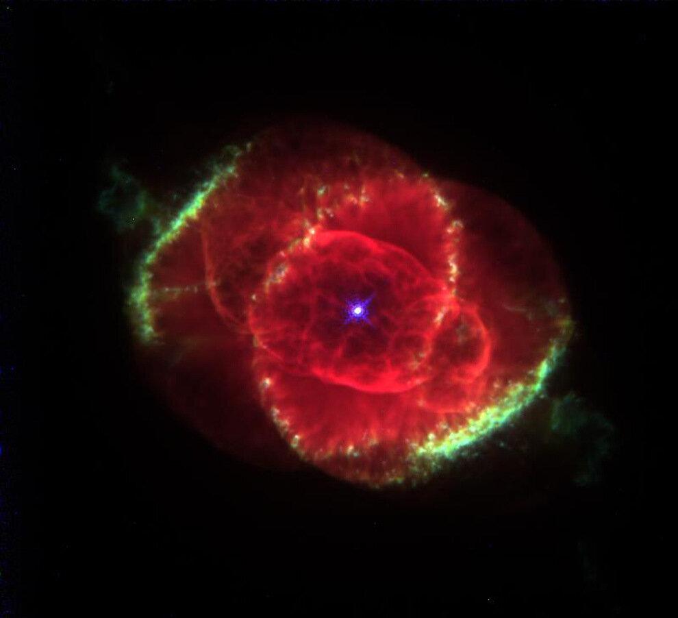 Фотографии планетарных туманностей