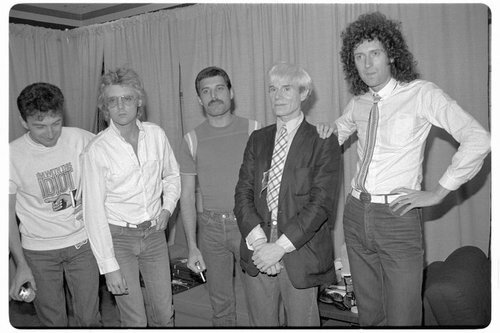 Queen and Andy Warhol