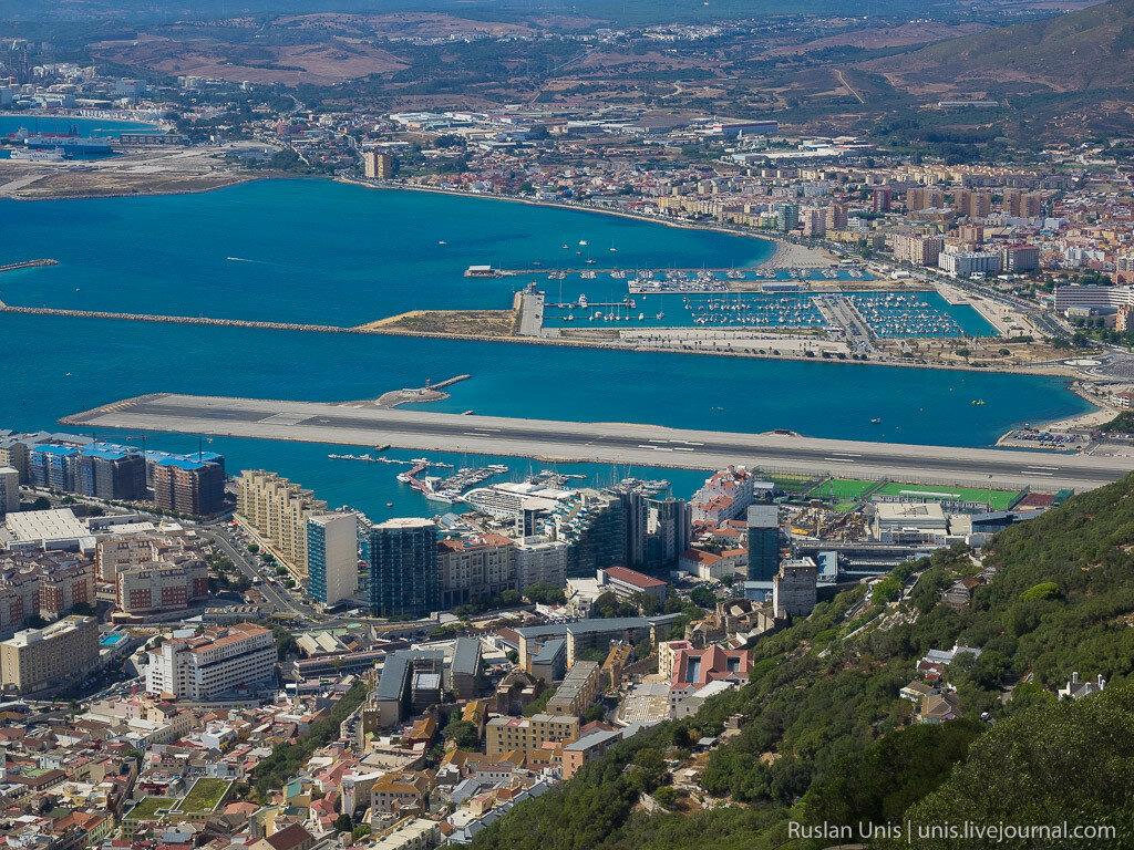 Как попасть в Гибралтар на машине