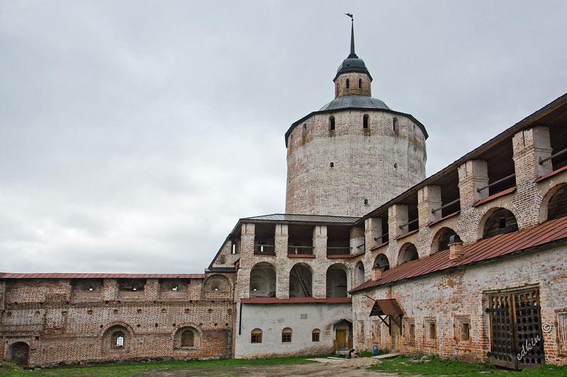 Смотровая башня Кирилло-Белозерского монастыря