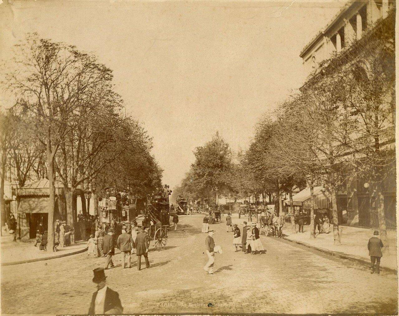 1880-е. Севастопольский бульвар