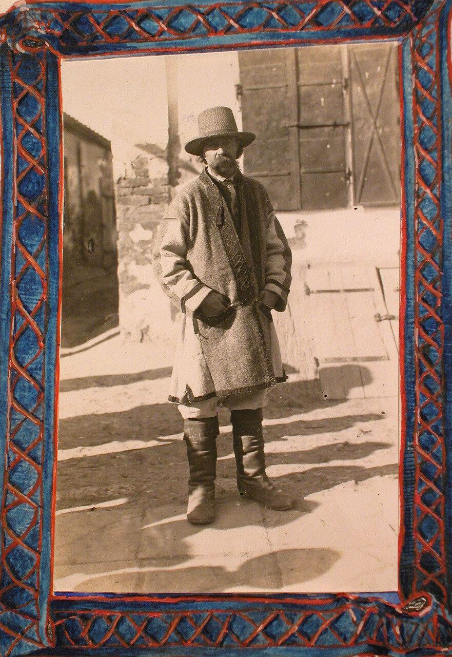18. Местный житель - русин. Галиция, Скалат