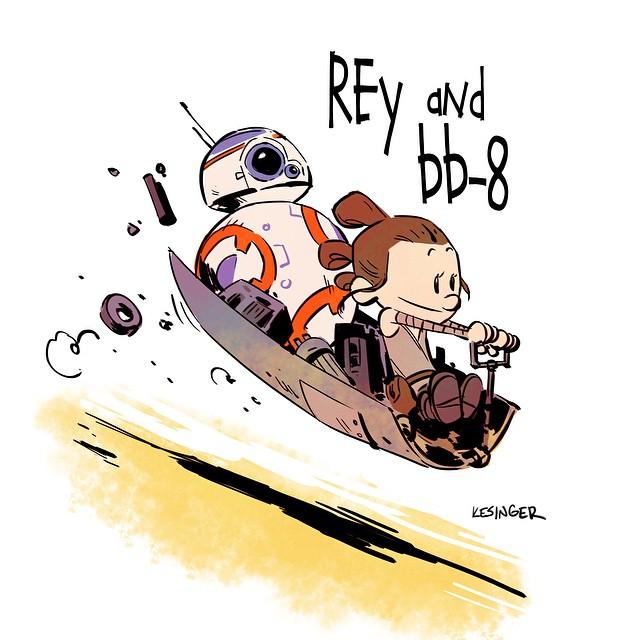 Calvin and Hobbes awaken, Brian Kesinger.jpg