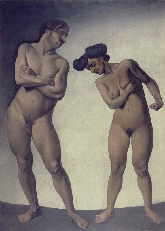 Hate. 1908.Felix Vallotton (1865-1925), France__Switzerland.