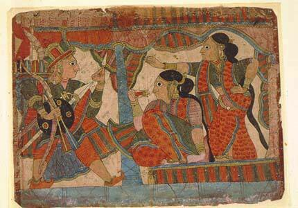 Семейное право древней индии