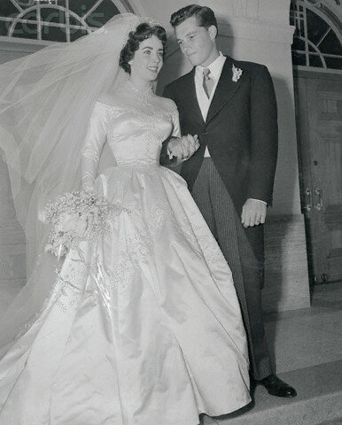 Mr. and Mrs. Conrad Nicholson Hilton, Jr.