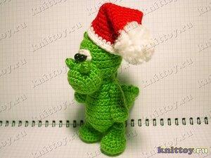 Дракончик Санта - прекрасный подарок к Новому году!  Я - Татьяна.  Добро пожаловать!