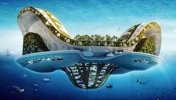 К 2020 году могут построить плавучий город