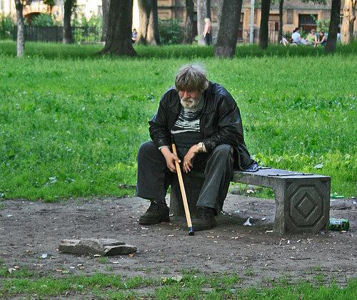 Старость = одиночество