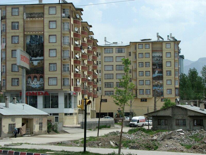 городские дома, Ван, Турция