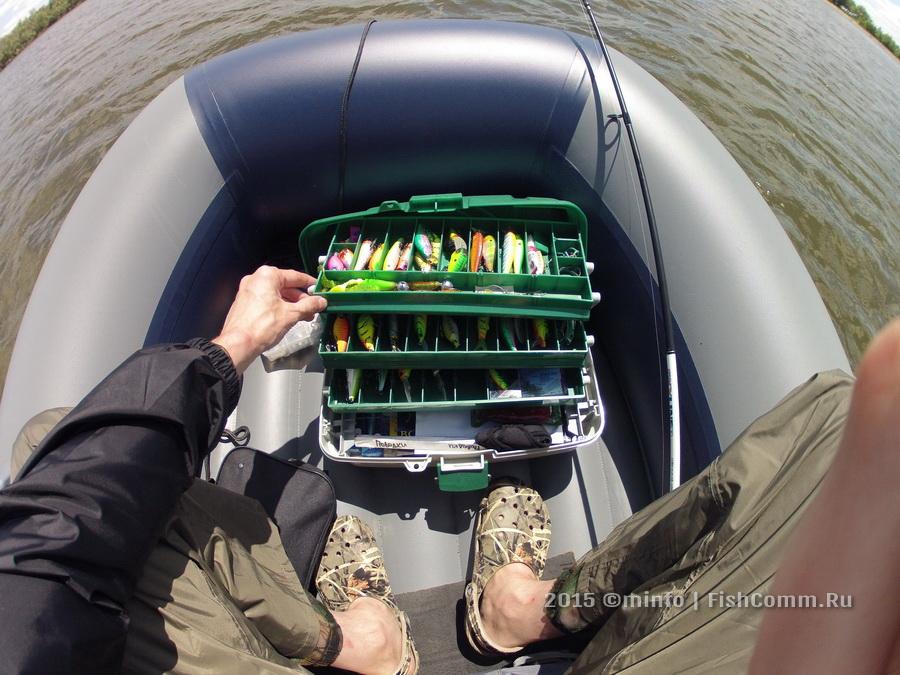Ящик рыболовный 3-х ярусный (440 х220 х200 мм.)