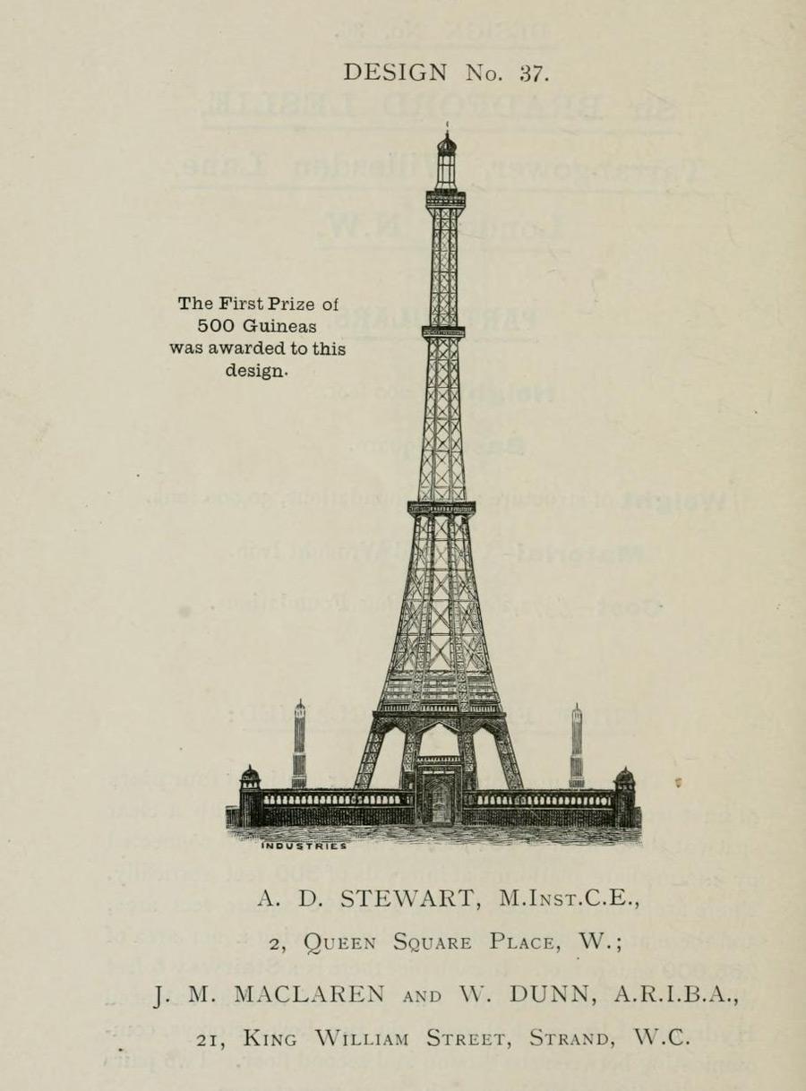 Как англичане пытались построить свою Эйфелеву башню (31 фото)