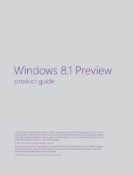 Книга Windows 8.1 Preview product guide