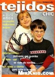 Журнал Tejidos chic 1998 junio