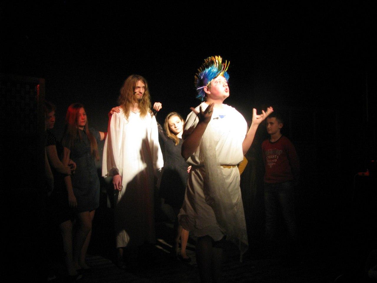 Иисус Христос суперзвезда (постановка молодёжного театра Эпилог 1 марта 2015 года)