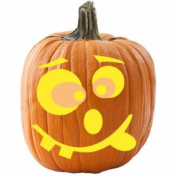 Шаблоны тыкв для Хэллоуина