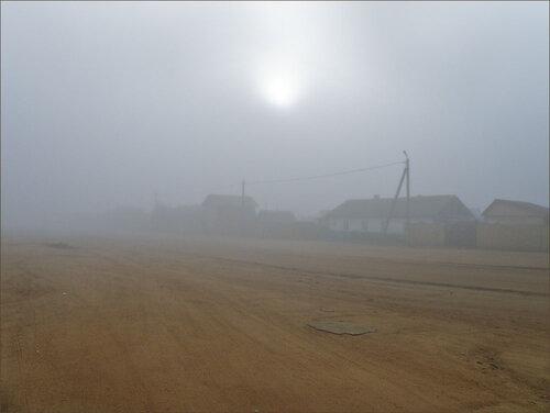 Хужир в тумане