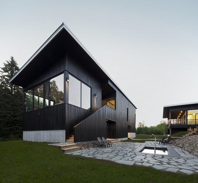 Курортный комплекс Station BLU в Квебеке, Канада