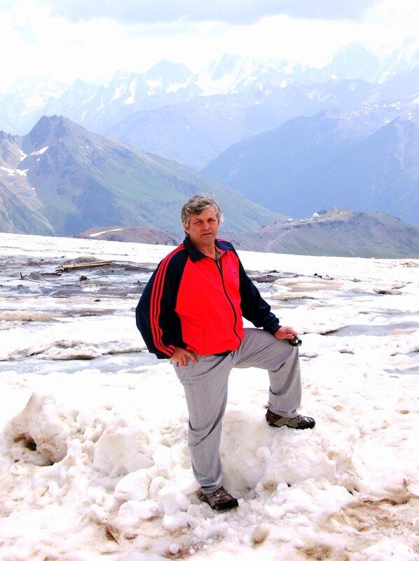 На леднике Малый Азау