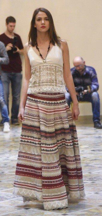 Сербия, Белград, показ мод
