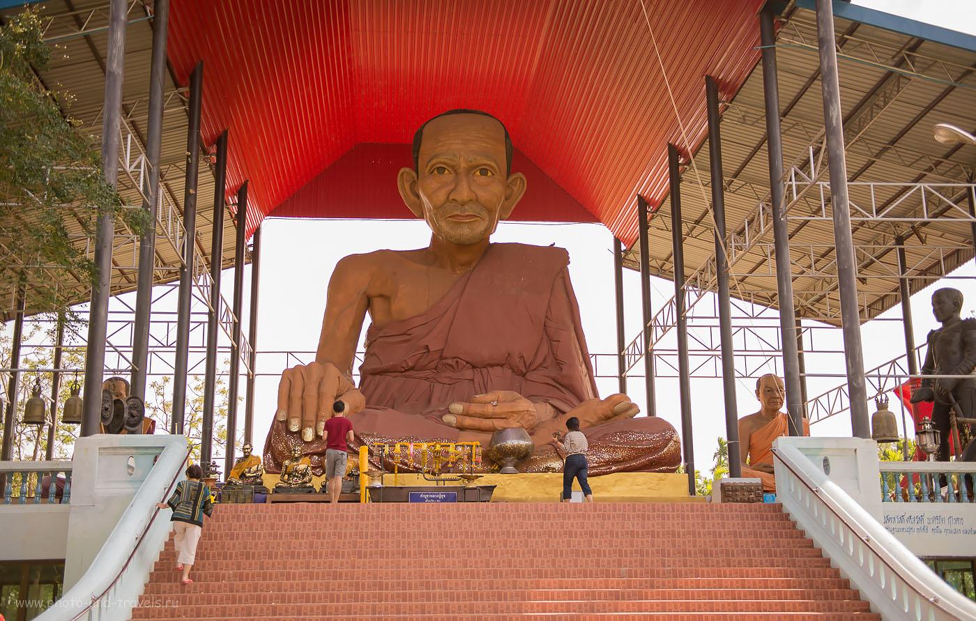 Фото 16. Великий Ушастик в храме Wat Na Yang. Тур по Таиланду за рулем автомобиля, взятого напрокат.