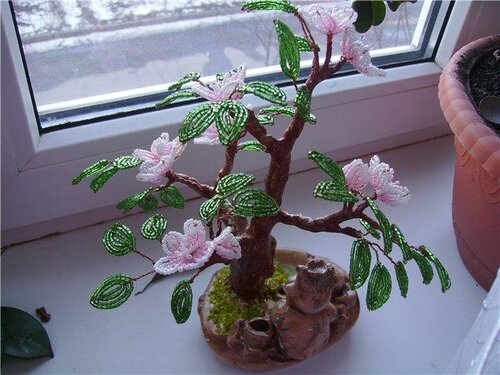 цветущие деревья мастер класс