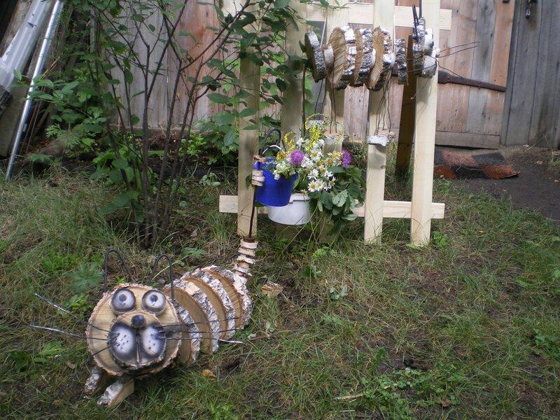 Картинки украшения для сада своими руками - Всё о фигуре здесь