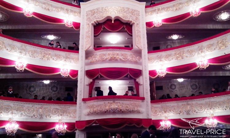 Балконы в театре оперы и балета Казань