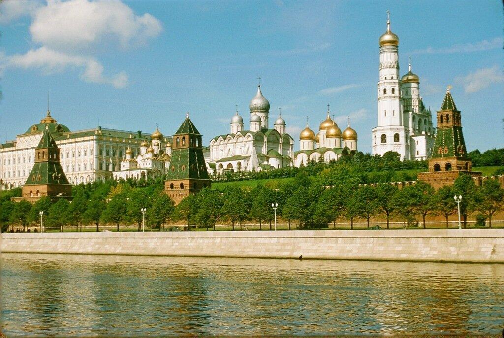 Москва. Фотографии Жака Дюпакье