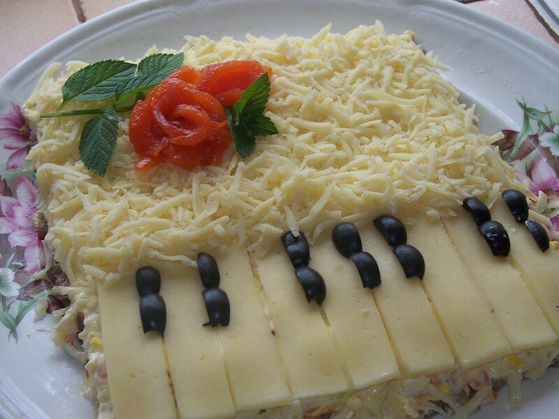 выглядят сосудистые салат рояль рецепт с фото пошагово доброй красивой крестной