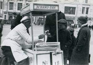 38. Москва. Торговля мороженым