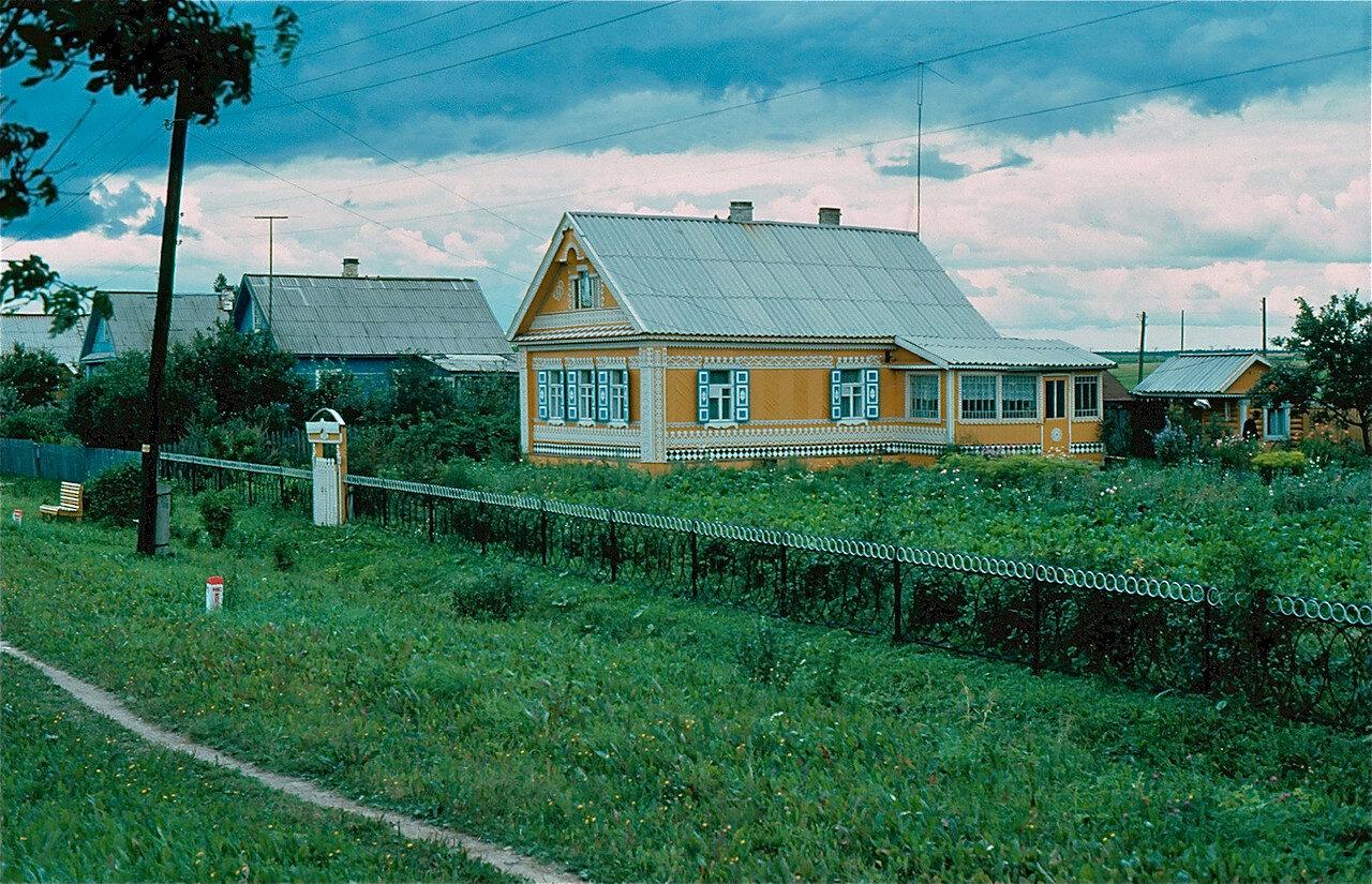 27. Деревня между Ленинградом и Новгородом