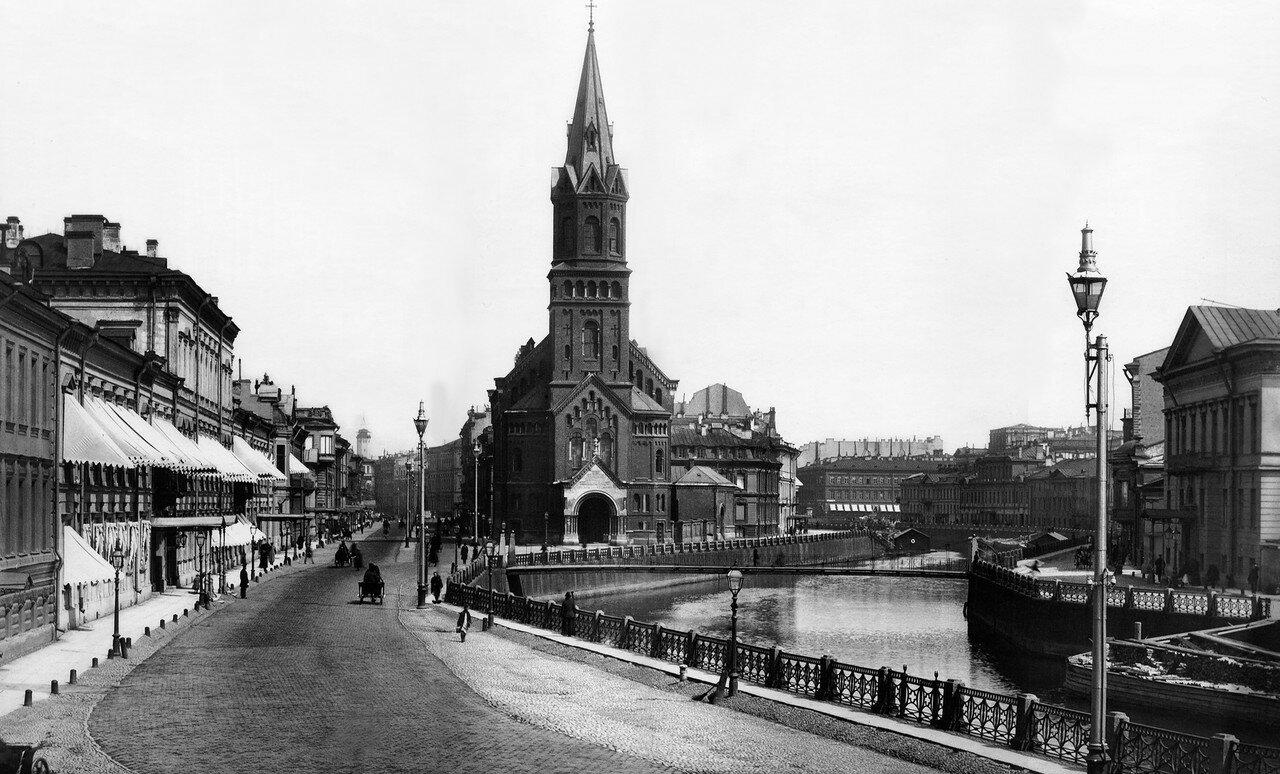 Немецкая реформатская церковь. 1910-е