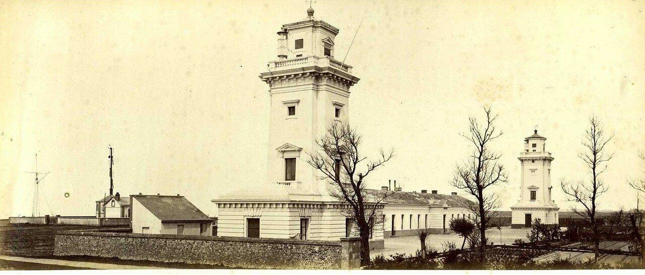 1900. Гавр. Панорама маяка в Сент-Адресс