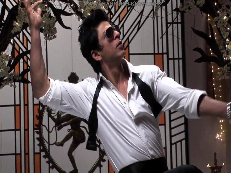 Shah Rukh Khan - Chammak Challo song sets (RAONE movie)