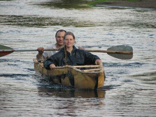 древние лодки ирландцев
