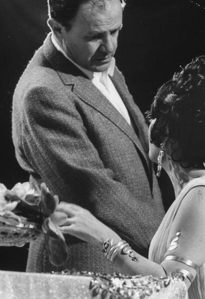 Elizabeth Taylor;Joseph L. Mankiewicz