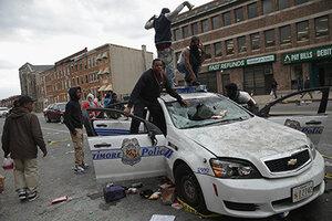 В Балтиморе арестовали порядка 200 человек