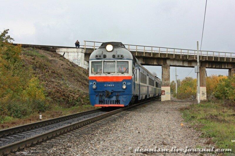 Дизель-поезд Д1-748