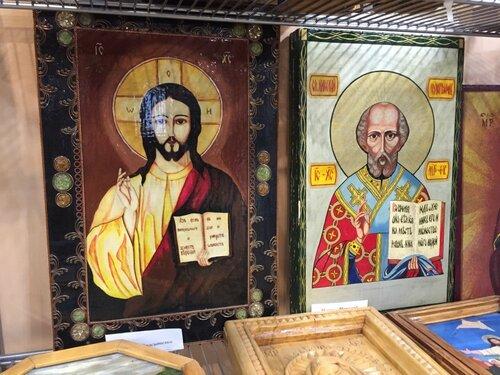 Самодельные иконы заключенных