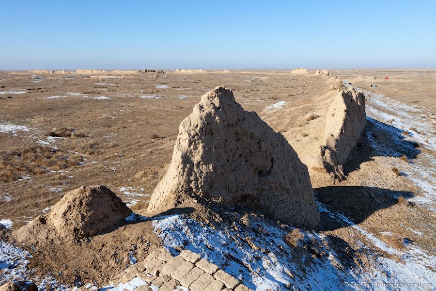 16. Пустыни юго-западного Казахстана.